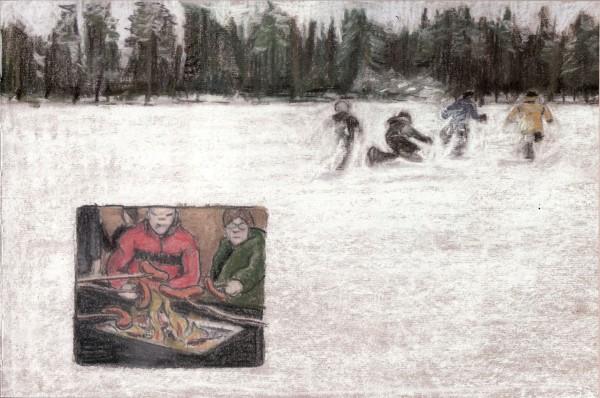 Ilonpitoa Suomen tundralla