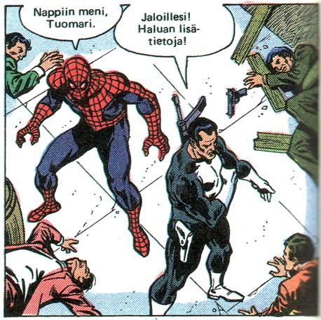 Spiderman musta kissa porno