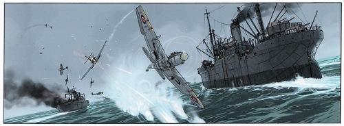 Varoitus: Taistelu saattaa siirtää huomiota pois taidokkaasti piirretystä vedestä.