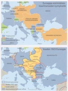 Historia-Atlas kartta