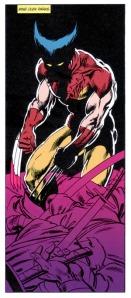 Wolverine pose