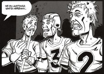 Kuolleiden urheilijoiden seura joukkue