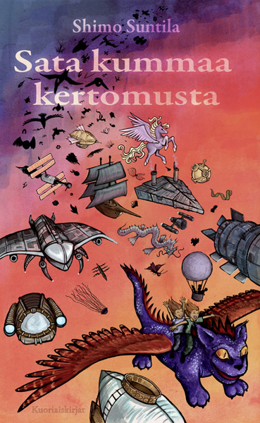 Sata kummaa kertomusta. So I tend to recycle cover material. (Cover artist: Arren Zherbin)