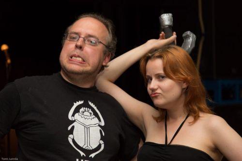 Paha pari, Tuomas ja Nina (kuva: Tomi Junnila)