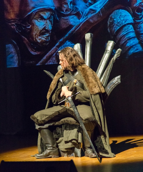 Ned has no idea what the throne will be used for next. (Photo credit: Tomi Junnila)